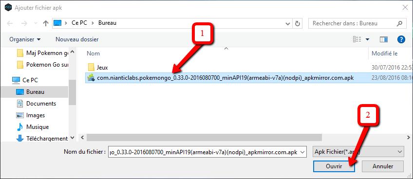 comment ouvrir un fichier avec une autre application