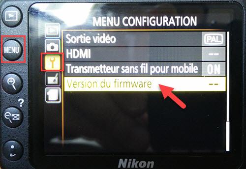 Mettre à jour les Firmwares du Nikon D3300 Blog EugeneToons