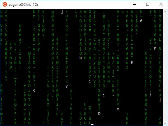Utiliser le shell bash de Linux sous Windows 10 - Blog EugeneToons